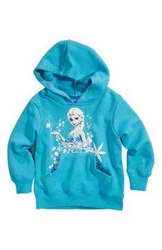 Seje Disney Frozen Sweatshirtjakke Blå Disney Frozen Cardiganer & trøjer til Børn & teenager i fantastisk kvalitet