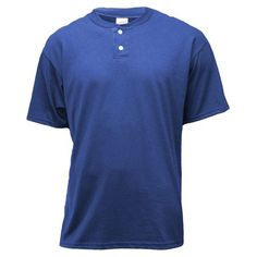 $13.31 ROYAL LRG Soffe - Soffe Men's Short Sleeve Two Button Henley Placket Shirt - Walmart.com Honeymoon Packing, Packing For A Cruise, Winter Tops, Summer Tops, Purple Outfits, Dinner Outfits, Columbia Blue, Walmart Shopping, Buttons