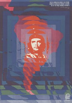 Day of the Heroic Guerrilla - 1968   18 Cuban Propaganda Posters From The '60s And '70s