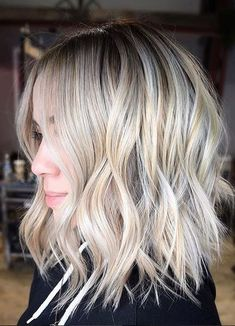 Best Hair Color Ideas 2017 / 2018 gorgeous blonde highlights with dimension