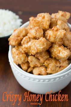 This Asian crispy honey chicken is amazing! Our family gobbled it up!
