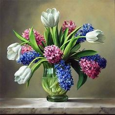 Flower Masterpieces by Pieter Wageman Artist, still life, inspiration for flowers for events, gift giving, and home decorating.