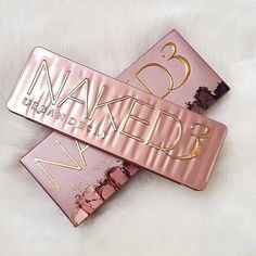 Urban decay naked 3 eyeshadow palettes ✨