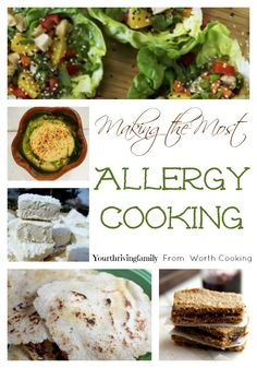 Making the Most Allergy Cooking - Over the last few years I have learned a bit about allergen friendly cooking. It started when we went on an elimination diet for the entire family. It was very restrictive, and I learned a lot on it. Including how many dirty dishes my kitchen counters could possibly hold and how many were too many. *cough*