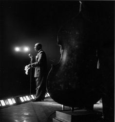 Louis Armstrong © Jeanloup Sieff