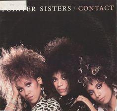 Pointer Sisters Contact Vinyl LP Record Album