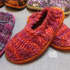 Joe's Toes - Joe's Toes Sam Knitted Slipper Kit U.S. sizes