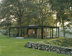PHILIP JOHNSON ~ GLASS HOUSE