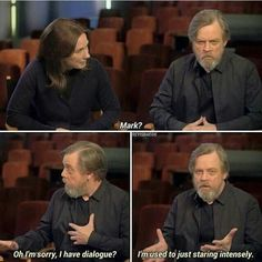Mark Hamill has jokes!!