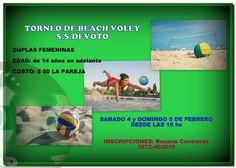 Torneo de Beach Voley en nuestras Instalaciones - Duplas Femenina - Edades de 14 años en adelante.¡¡ Inscribite !!!!