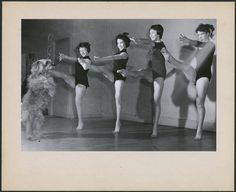 Title / Titre :  Dancing troupe of four girls and a dog /  Troupe de danse composée de quatre filles avec un chien   Creator(s) / Créateur(s) : Unknown / Inconnu  Date(s) :  Unknown / Inconnu  Reference No. / Numéro de référence :  MIKAN 4369571, 4369676      collectionscanada.gc.ca/ourl/res.php?url_ver=Z39.88-2004&...     collectionscanada.gc.ca/ourl/res.php?url_ver=Z39.88-2004&...  Location / Lieu :  Canada  Credit / Mention de source :   Canada. Department of Manpower and Immigration…
