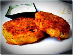 Padlizsán csicseriborsós bundában Tandoori Chicken, Ethnic Recipes, Wellness, Food, Essen, Yemek, Eten, Meals