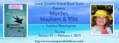 Queen of All She Reads: Virtual Book Tour & #Giveaway for Murder, Mayhem &...