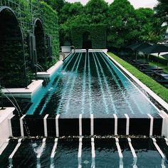 The Siam Hotel Location: Bangkok Thailand Photographed by The Siam . The Siam Hotel Location: Bangkok Thailand Photographed by The Siam . Who wants to go swimming! Outdoor Pool, Outdoor Spaces, Outdoor Living, Outdoor Decor, World's Most Beautiful, Beautiful Homes, Landscape Architecture, Landscape Design, Landscape Elements
