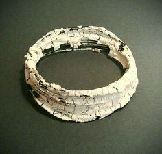 Lena Johansson 2014 – porcelain  steel wire burnt at 1280°