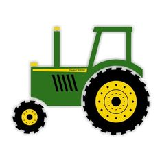 download free tractor john deere vectors vectorfreak clipart rh pinterest com John Deere Tractor Clip Art Black and White John Deere Tractor Clip Art Black and White