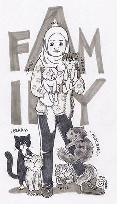 me & kitty!