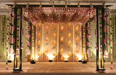Pergola With Retractable Canopy Kit Info: 5474125867 Wedding Backdrop Design, Wedding Stage Design, Wedding Stage Decorations, Hall Decorations, Floral Decorations, Wedding Mandap, Wedding Ceremony, Wedding Pergola, Wedding Bells