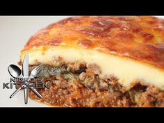 HOW TO MAKE MOUSSAKA - VIDEO RECIPE