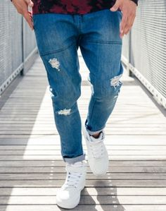 Absent Destroyed Jeans ($70NZD)