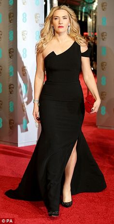 Simply beautiful: The 40-year-old actress worked the red carpet in a form-fitted fishtail ...