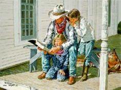 girls Learning The Gosple by Kenneth Wyatt