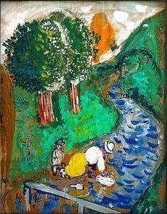 Marc Chagall, La Rivière