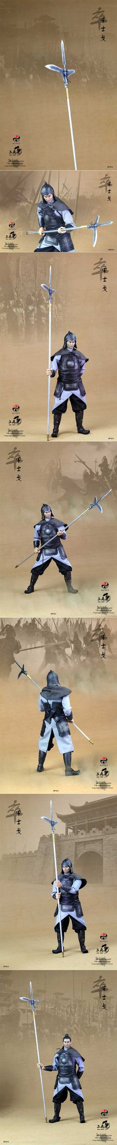 [303 Toys 1/6 China series(Soldier) Spear Kay hoplite - Complete set - NO.303]