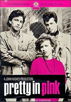 Pretty in Pink..I remember standing in line in Dallas With Jessica Dohm for the premier of this movie the night before it came out...goodtimes....