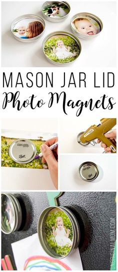 Upcycled Mason Jar L