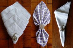 Napkin folding - 12