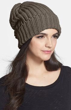 Phase 3 Chunky Knit Beanie available at #Nordstrom