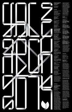 Yale School of Architecture poster by Pentagram / Michael Bierut and Jessica Svendsen