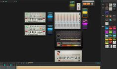 Creating music tracks used to be time consuming and expensive. But with sites like this, anyone can make their own synthesised tracks using virtual mixing desk. Click on launch to start the app. Choose your equipment or use the default desk to get you going. You can listen and even remix tracks from other members on the site.