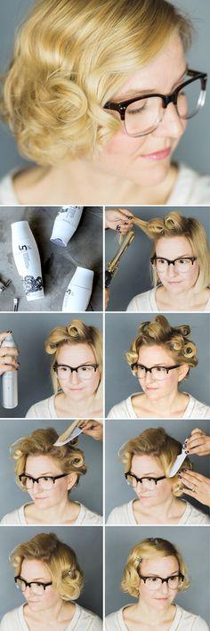 romantic vintage hair tutorial