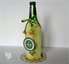 Wine Bottle Decorative Box