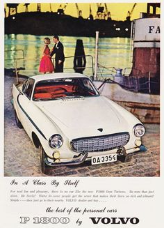 Volvo P1800, 1963 Don Beyer Volvo of Alexandria 7416 A Richmond Hwy Alexandria, VA 22306 Tel. 703-768-5800 www.alexandriadonbeyervolvo.com #coolplacetobuyacar