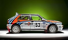 Lancia Integrale - The time they made real rally cars...