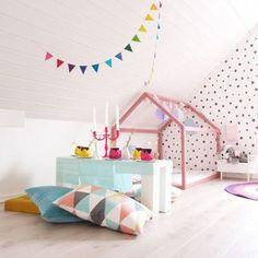 Decoração low cost para dormitórios infantil