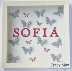 Stampin' Up! UK - Papillon Potpourri Gift Picture Frames