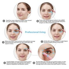 Eye Massager Vibration Heated Under Eye Massager Wand Relieves Dark Circles Puffiness Eye Wrinkle Device *** You can find more details by visiting the image link-affiliate link. Remedies For Glowing Skin, Massage, Circulation Sanguine, Facial Muscles, Anti Ride, Eye Wrinkle, Les Rides, Magic Eyes, Younger Skin