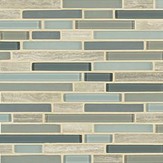 seaglass tile - kitchen backsplash idea