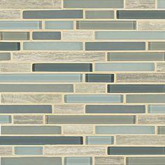 seaglass tile - kitchen backsplash idea