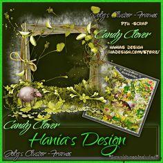 Candy clover-cluster-02 [HaniaDesign] - $0.50 : Hanias Design