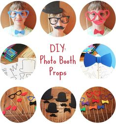 DIY: Photo Booth Props