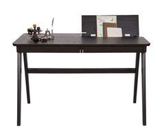 Schreibtisch Oxford Esche schwarz