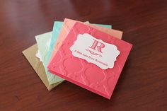 Personalized 3x3 note cards!