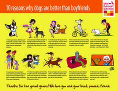 """""""10 Reasons Why Dogs are better than Boyfriends,"""" by Christina Le"""