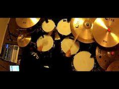 "Roberto Serrano playing Drums. ""Camaleón"". 2013"
