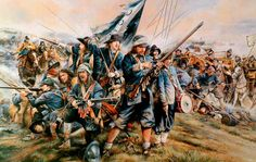 """""""The Battle of Naseby 14th June 1645"""", Chris Collingwood"""